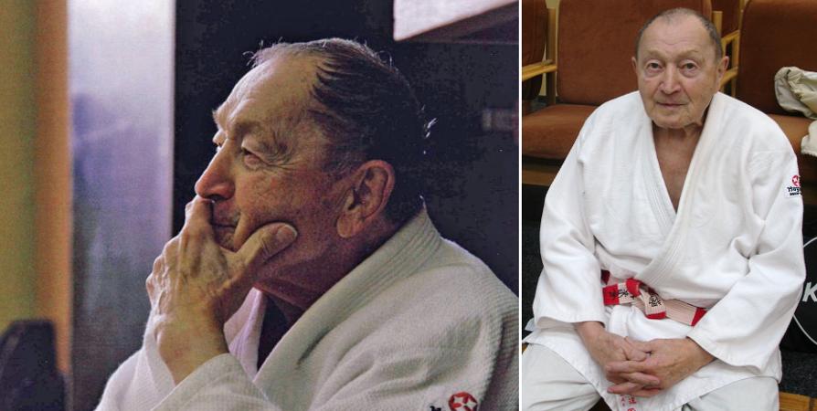 "sensei Vladimír ""Kazik"" Lorenz (8. dan judo)"