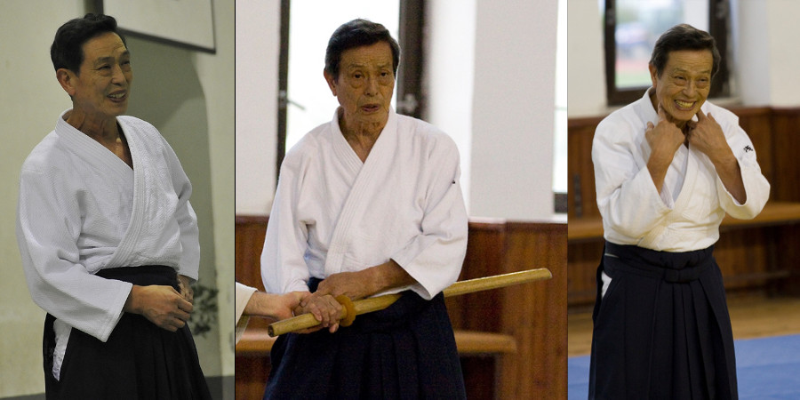 sensei Katsuaki Asai (8. dan Aikikai)