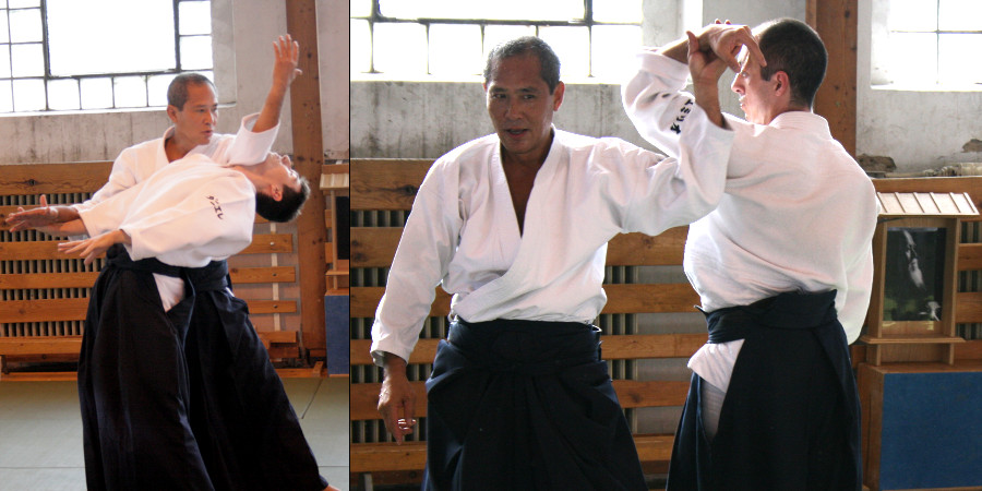 sensei Yoji Fujimoto (8. dan Aikikai)